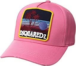 DSQUARED2 Vintage Palms Baseball Cap