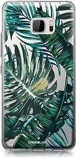 CASEiLIKE® Funda HTC U Ultra, Carcasa HTC U Ultra, Palmera Tropical 2238, TPU Gel Silicone Protectora Cover