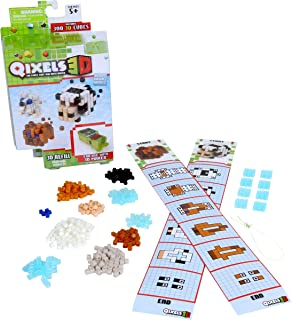 Qixels S3 3D Animal Ranch Refill Pack - 5 Years & Above - Multi Color