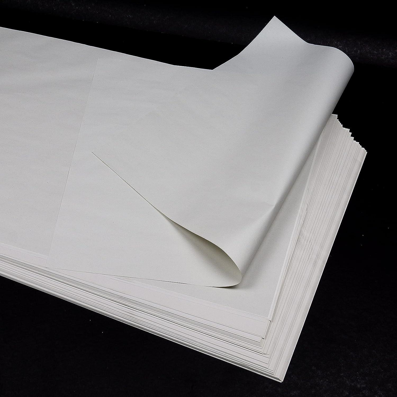 100 hojas (1 kg) Papel fino blanco 100% reciclado, 40x60 cm, para envolver regalos, proteger, mudanzas, manualidades, embalaje, relleno, (similar al papel de periódico), 40 g/m²