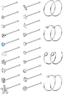 Best bone nose ring Reviews