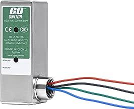 10A//120VAC Limit Switch Style Terminal 1//2 NPT Conduit 1.5 x 1.5 x 5 1//2 NPT Conduit 1.5 x 1.5 x 5 TopWorx GO Switch 11-12110-00 CSA//FM CL1 Div 2 Exp-Proof 14 mm Sensing Distance