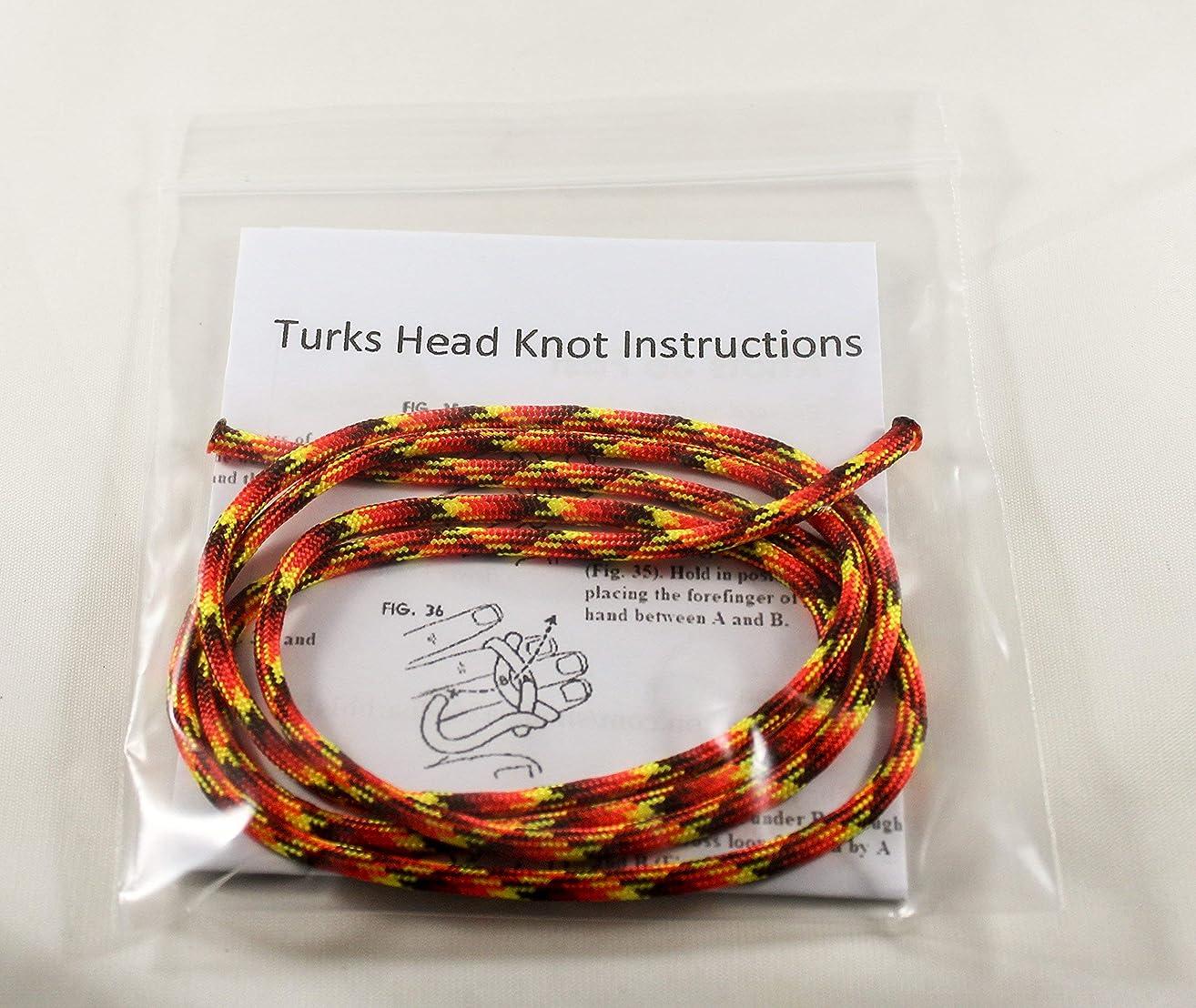 Scout Neckerchief Slide Woggle Turks Head Knot Kit