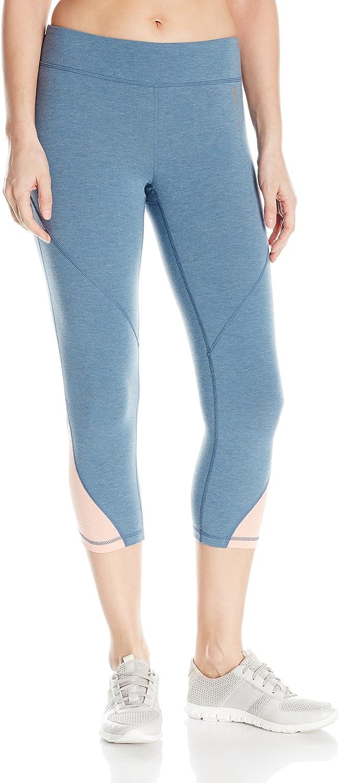 Roxy Womens Imanee Heather Capri Workout Pant Pants