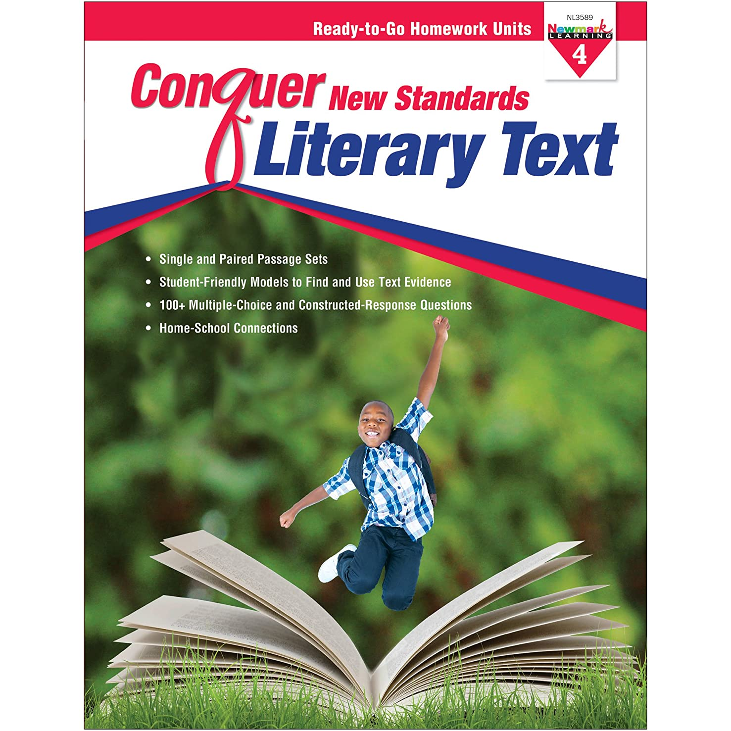NewMark Learning Conquer New Standards, Literary Text, Grade 4