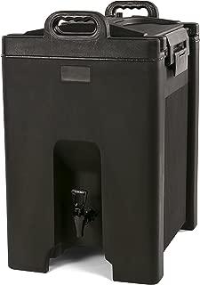 Carlisle XT1000003 Cateraide Insulated Beverage Server/Dispenser, 10 Gallon, Black
