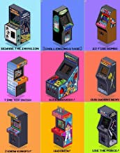 Top 50 arcade cabinets: Return learn games (English Edition)
