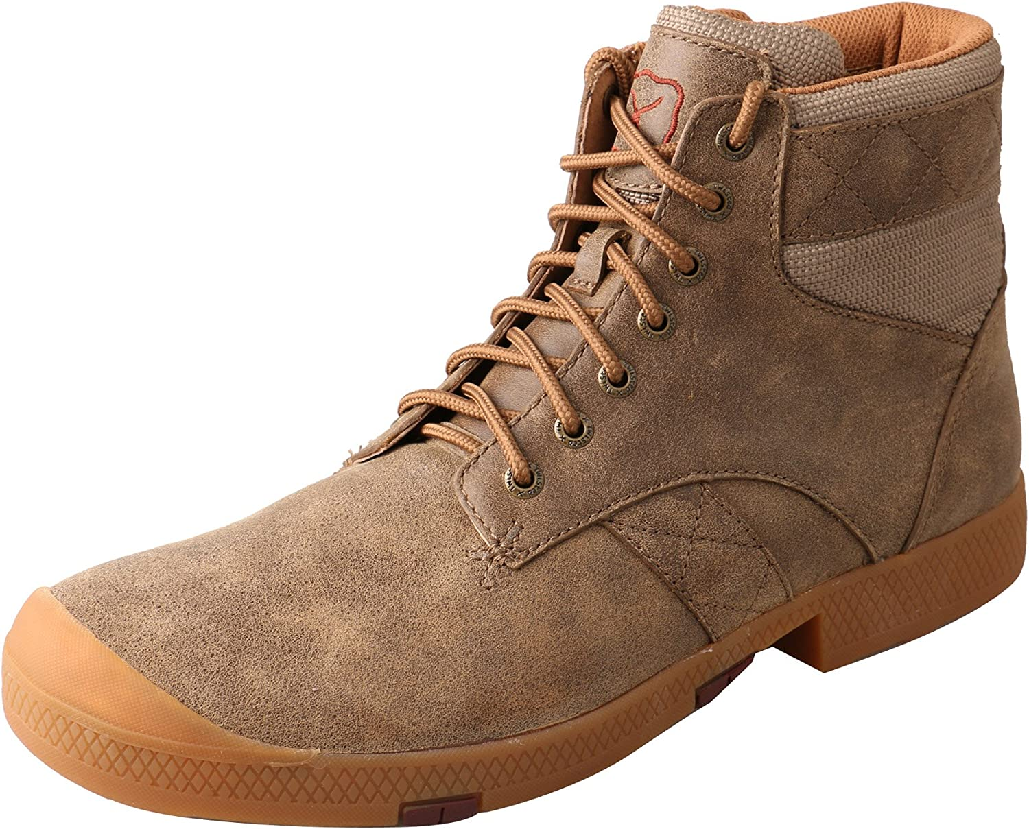 Twisted X Casual shoes Mens Lace Up B Toe Mocs 11.5 W Bomber MCA0008