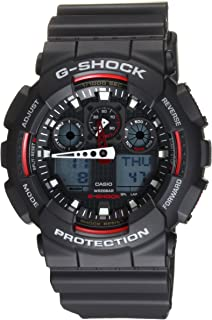 G-Shock GA 100 Black - GA-100-1A4CR Watch