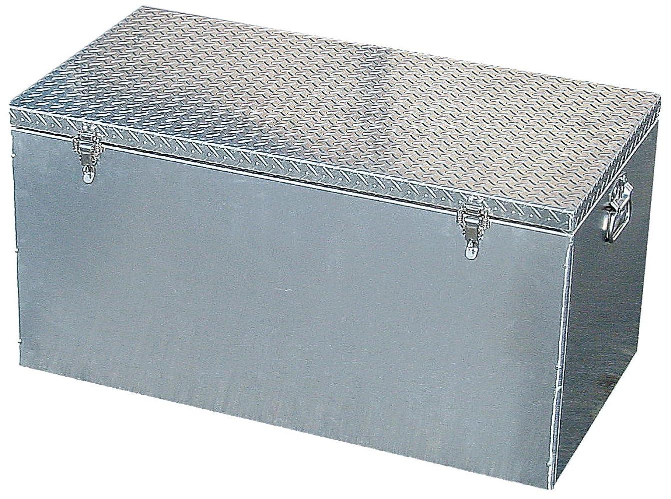 日付無駄だ二層アルミ製収納ボックス エコックストッカー