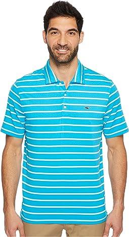 Vineyard Vines Golf - Eshman Stripe Performance Polo