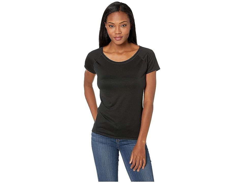 Prana Iselle Short Sleeve Tee (Black) Women