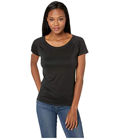 Prana Iselle Short Sleeve Tee (Black) Women
