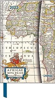 Antique Maps 2022 - Diary - Buchkalender - Taschenkalender - 10x15: Magneto Diary