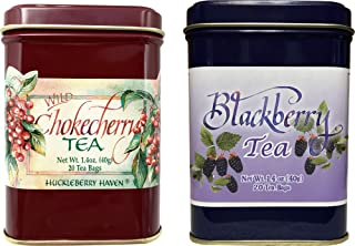 Chokecherry and Blackberry Tea Pack of two 40 Count Tea Bags