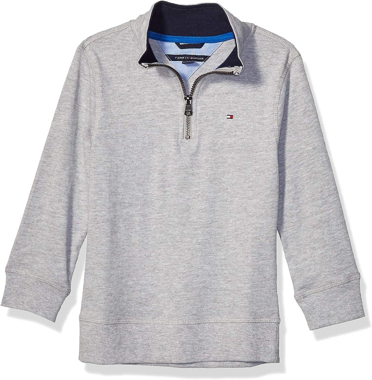 Tommy Hilfiger Boys Quarter Zip Sweater