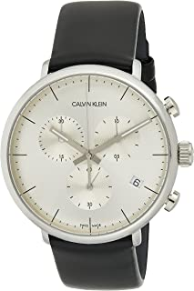 Calvin Klein High Noon K8M271C6 Leather Analog Casual Watch for Men