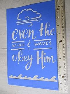 "/""LIGHTHOUSE/"" 2 Sizes Waves Coastline 8.5/"" x 11/"" Stencil Plastic Sheet NEW S37"