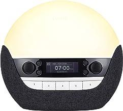 Lumie Bodyclock Luxe 750DAB Lichtwekker, DAB-radio, bluetooth-luidspreker en weinig blauw licht voor slaaptijd