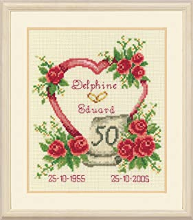 Best anniversaries of the heart cross stitch Reviews
