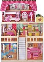 Kids House Casa de Muñecas de Madera con Muebles -Emily-