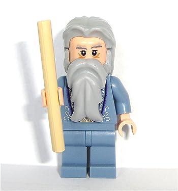 Lego Harry Potter 2010 Mini Figure - Dumbledore with Wand