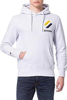 Superdry Sportstyle Applique Hood Sudadera con Capucha para Hombre
