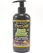 product image for Dr. Earth Organic & Natural Pump & Grow Pure Gold All Purpose Plant Food 16 oz, Black