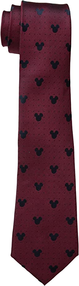 Disney® Mickey Mouse Red Pin Dot Tie