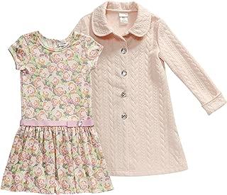 Sweet Heart Rose Toddler Girls' 2 Pc Coat Set with Dress