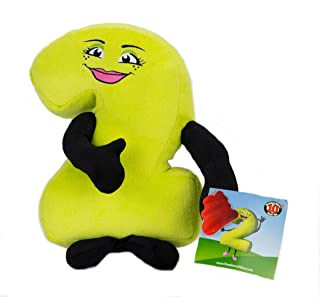 "Posable 10"" Tall Plush Number number 2 Puppet ""Doll"" for Numeracy, Storytelling, and STEM Learning"