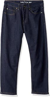 Nautica Boys' Slim Straight Jeans,