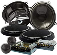 Sponsored Ad - CT Sounds Strato 5.25 inch Component Full Range Car Speaker Set - Pair