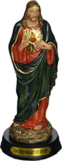 5-Inch Sacred Heart of Jesus Holy Religious Figurine Decoration Statue