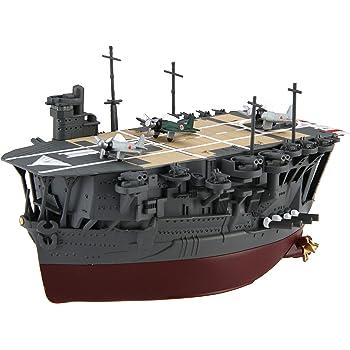 フジミ模型 ちび丸艦隊シリーズ No.10 加賀 全長約11cm ノンスケール 色分け済み プラモデル ちび丸10