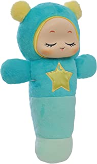 Playskool Glo Worm SmartSense Cry Sensor and Voice Recordable Soft Stuffed Soother Toy for Newborn, Baby, and Toddler (Amazon Exclusive)
