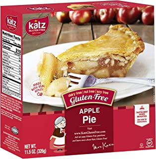 Katz Gluten Free Personal Size Apple Pie | Dairy Free, Nut Free, Soy Free, Gluten Free | Kosher (3 Packs of 1 Pie, 11.5 Ou...