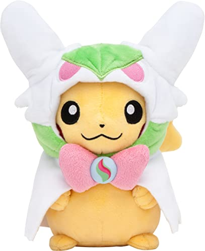 A la venta con descuento del 70%. Pokemon Center Original Original Original Stuffed Pikachu with Poncho of Mega Gardevoir by  Descuento del 70% barato