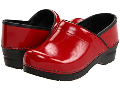 Sanita Professional Patent (Red Patent) Women