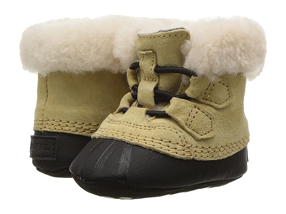 SOREL Kids Caribootie (Infant) (Curry/Black) Kid