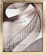 Lawrence Frames 708080 Galvanized Expressions 8x10 Chloe Contemporary Gold Picture Frame