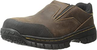 Skechers for Work Mens Hartan Steel Toe Slip-On Shoe