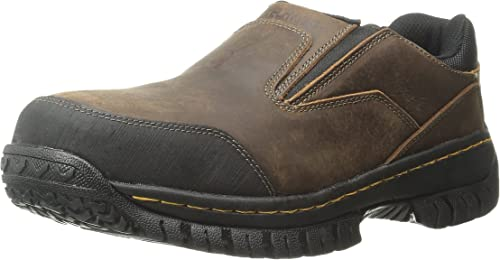 Skechers for for for Work Hartan Steel Toe Slip-on Chaussures a6c