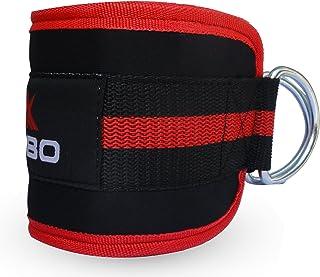Kobo WTA18 D-Ring Ankle Strap (Black/Red)