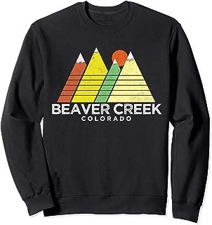 Beaver Creek T-Shirt - Retro Style Mountain  Sweatshirt