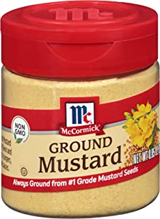 McCormick Ground Mustard, 0.85 Ounce (Pack of 1)