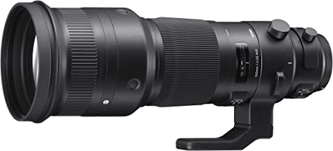 Sigma F4 DG OS HSM Sports - Objetivo para cámara para réflex (500 mm) Color Negro