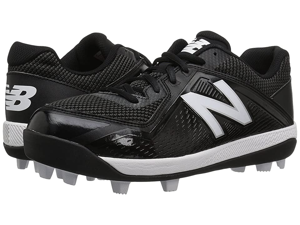 New Balance Kids J4040v4 Baseball (Little Kid/Big Kid) (Black/Black) Kids Shoes