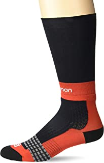 Salomon Standard Socks, black/Racing Red, M