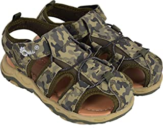 MYAU Kids Military Design Sandal for Girls and Boys